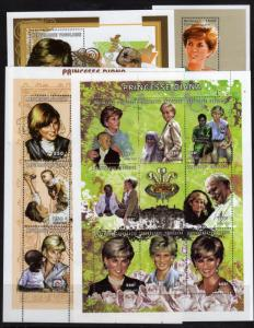 Lady Diana Stamps collection MNH 8 Scans A Steal at this price (L-12)