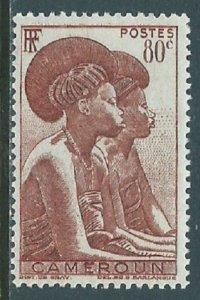 Cameroun, Sc #309, 80c MH