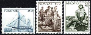 Faroe Islands #112-4  MNH  CV $5.35 (P645)