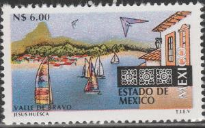 MEXICO 1804, N$6.00 Tourism Mexico, Valle de Bravo. Mint, Never Hinged F-VF.