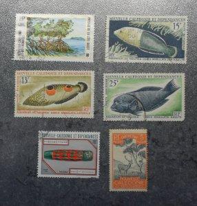 NEW CALADONIA  FRANCE   Stamps  coms  1928  +    ~~L@@K~~