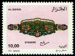 Algeria #1209  MNH - Handicrafts Etagere (2001)