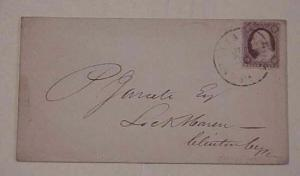 US COVER #25 cat.$140.00 WILLAMSPORT PA