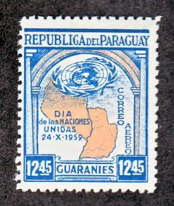 Paraguay Scott #C261 MH