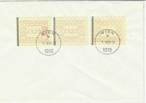 Austria 1983 Wien Cancels ATM Automatic Vending Machine Stamps Cover Ref 25484