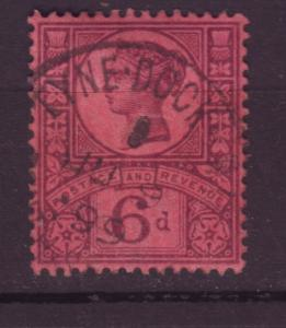 J19731 Jlstamps 1887-92 great britain used #119 queen