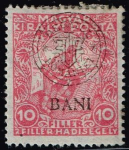 HUNGARY STAMP ROMANIAN SURCHARGED MINT STAMP LOT #4