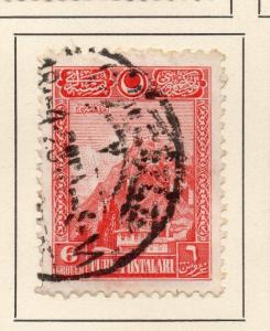 Turkey 1926 Early Issue Fine Used 1k.  230750
