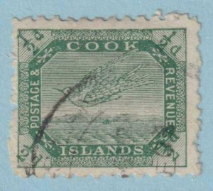 COOK ISLANDS 27  USED - NO FAULTS VERY FINE!