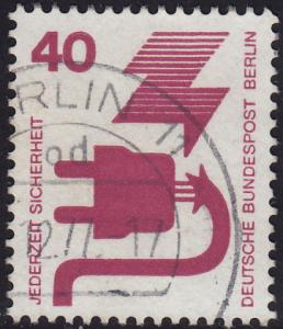 Germany Berlin - 1971 - #9N321 - used - Accident Prevention