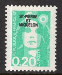 St Pierre and Miquelon 523 MNH VF