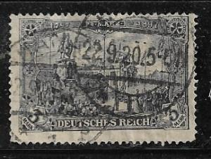 Germany Mi. #96 A I / Sc. #94  used L90
