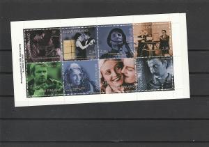 Finland  Scott#  1003a  MNH Complete Booklet  (1996 Cinema)