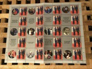Kenya Famous People Stamps 2017 MNH President Barack Obama State Visit 20v M/S