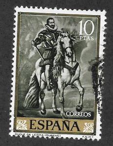 SPAIN Scott #1114 Used Duke on Horseback 2017 CV $2.75