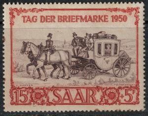 Saar 1950 SC B76 MNH Set SCV $67.00