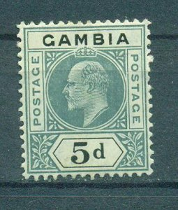 Gambia sc# 50 mh cat value $19.00