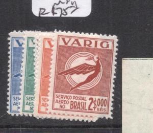 Brazil SC 3CL37-43 MNH (3dig)