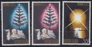 Norfolk Island 153-155 MNH (1973)