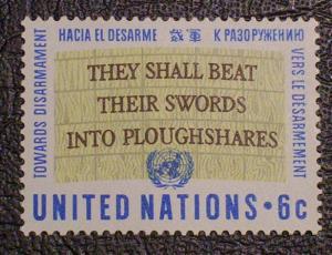 United Nations Scott #177 mnh