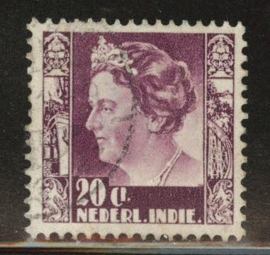 Netherlands Indies  Scott 176 used from 1934
