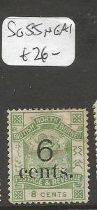 North Borneo SG 55 NGAI (1cma)