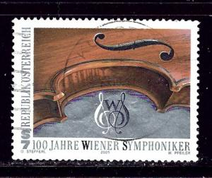 Austria 1825 Used 2000 Vienna Philharmonic Orchestra