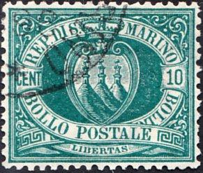 San Marino  #8 Used