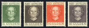 NETHERLANDS ANTILLES #226-29 Mint NH - 1960 Wilhelminas