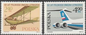 Poland #2123-4 MNH F-VF (SU4883)