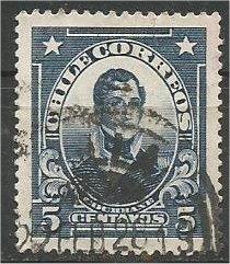 CHILE, 1915, used 5c, Cochrane, Scott 124