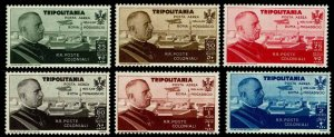 1934 Tripolitania #CB1-CB6 Air Post Semi-Postal - OGNH - VF - CV$93.89 (E#4172)