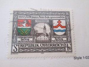 Austria #1325  used  2019 SCV = $0.40