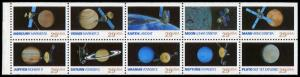 USA 2577a,2568-2577 Mint (NH) Booklet Pane of 10