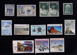 Australian Antarctic Territory Sc L1-L2,L7,L53 (Others)Used/Cancelled Stamps VF