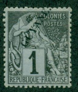 French Guiana #18  Mint  Scott $45.00