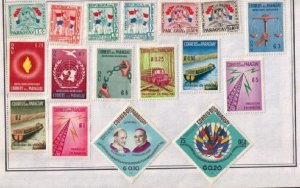 PARAGUAY Sc#919,921 Events of 1960s (With Others) Lot of (17) Mint Hinged F-VF