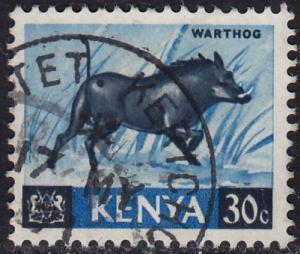 Kenya - 1966 - Scott #24 - used - Warthog