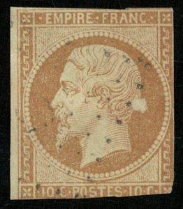 1853-1861 Emperor Napoléon III,  10 cents, EMPIRE FRANC (4300-Т)