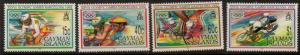 CAYMAN ISLANDS SG742/5 1992 OLYMPIC GAMES MNH