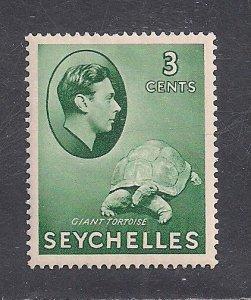 SEYCHELLES SC# 126  FVF/MOG