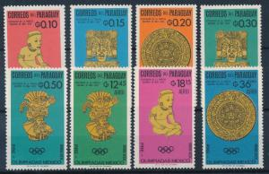 [63001] Paraguay 1966 Olympic Games Mexico - Art  MNH