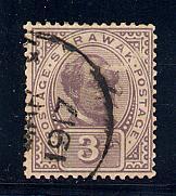 Sarawak Scott # 50, used