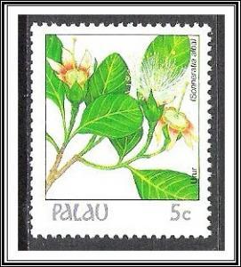 Palau #128 Indigenous Flowers MNH