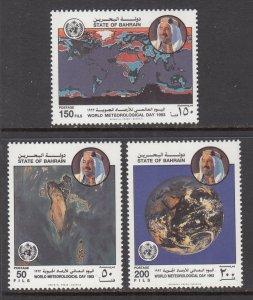Bahrain 404-406 MNH VF