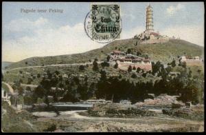 Germany 1915 WWI Peking China Feldpost Cover 82746