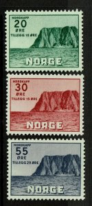 Norway SC# B54-B56, Mint Hinged, Hinge Remnant - S9412