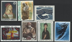 France Scott 1688-1694 MNH! Complete Set!