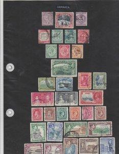 jamaica stamps  ref 12211