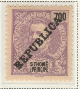 Portugal ST. THOMAS AND PRINCE ISLANDS 1913 700r MNG A5P55F70